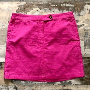 Anthropologie Vanessa Virginia pink tennis skirt